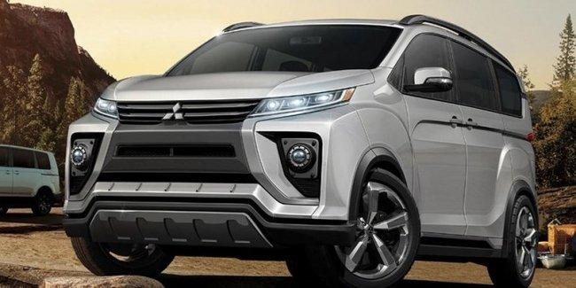 Mitsubishi Delica ждет обновление