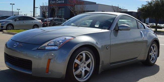 На продажу выставили первый выпущенный Nissan 350Z