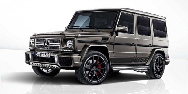 Mercedes-Benz представил специальную версию G-Class