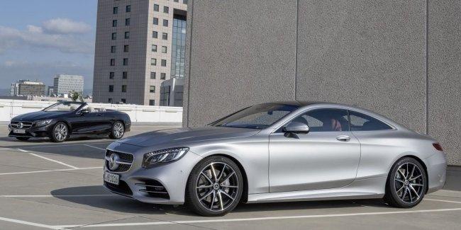 Официально: Mercedes представил обновлённое купе и кабриолет S-Class