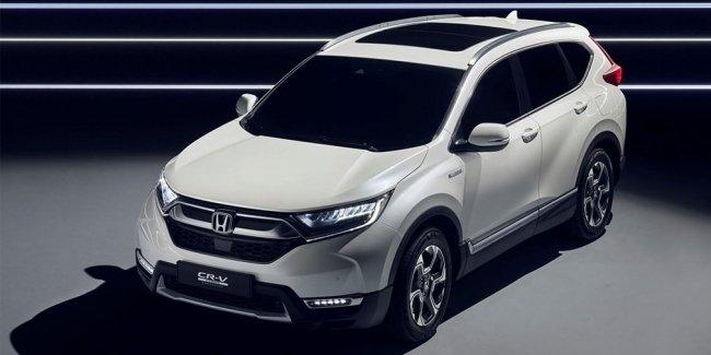 Honda представила гибридный кроссовер для Европы