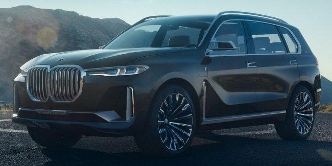 В сеть «утекли» официальные фото BMW X7