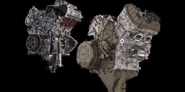 Новый двигатель Ducati Desmosedici Stradale V4