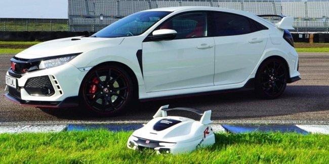 Honda сделала Type R версию газонокосилки