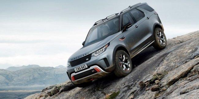 «Проходимый британец»: Land Rover представил внедорожник Discovery SVX