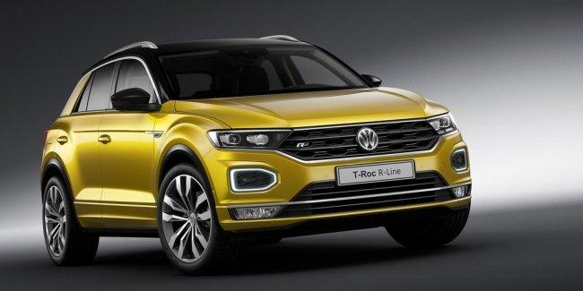 Больше спорта: представлен кроссовер Volkswagen T-Roc R-Line