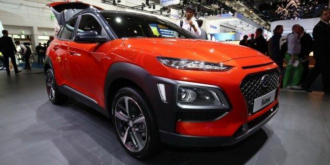 Компактный кроссовер Hyundai Kona дебютировал во Франкфурте