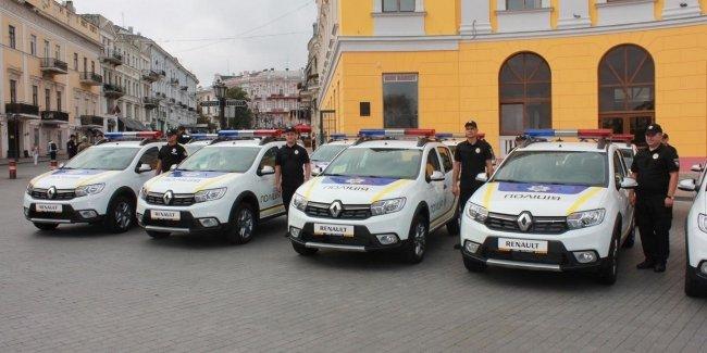 Одесская полиция получила новые автомобили
