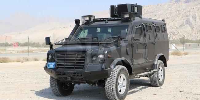 В Киеве покажут бронеавтомобиль для спецназа – Jaws на шасси Land Cruiser 200