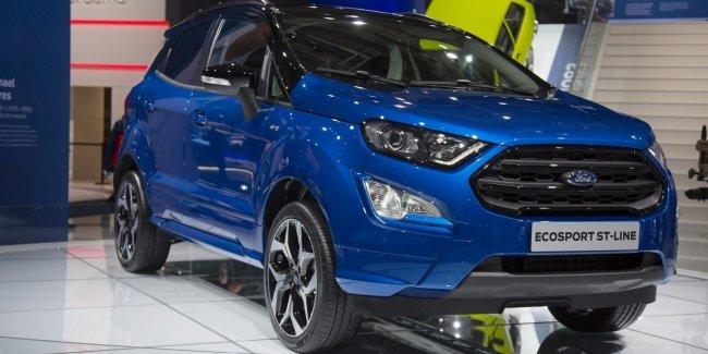 Обновленный Ford EcoSport получил новый дизельный двигатель