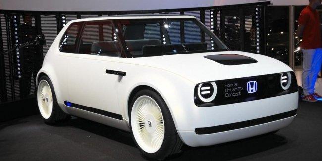 Из прошлого в будущее: Honda представила электрокар Urban EV Concept