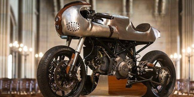 Кастомайзеры изменили Ducati Hypermotard 796 до неузнаваемости