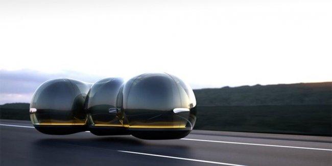 Китаянка придумала для Renault летающие машины-пузыри
