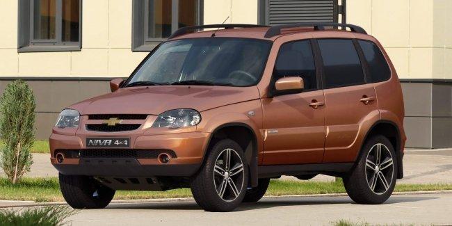 Внедорожник Chevrolet Niva получил юбилейную спецверсию