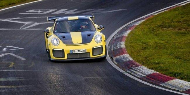 Мощнейший Porsche 911 установил рекорд Нюрбургринга