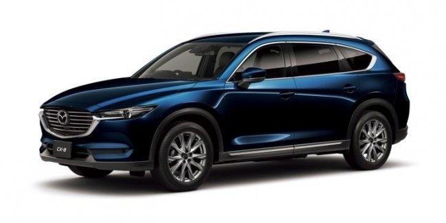 Кроссовер Mazda CX-8 будут продавать за пределами Японии