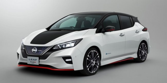 Электрический спортсмен: Nissan рассекретил электрокар Leaf Nismo Concept