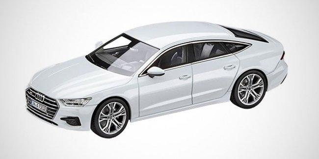 Дизайн нового хэтчбека Audi A7 раскрыли на масштабной модели