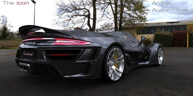 Канадский суперкар на базе Porsche 911 с характеристиками Bugatti