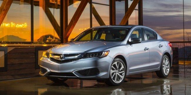 Acura начинает продажи седана ILX 2018 модельного года