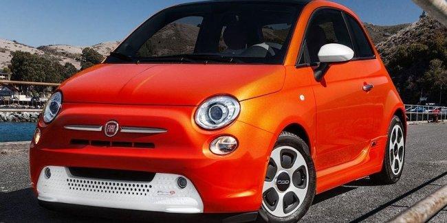 Fiat теряет 20 тысяч долларов на каждом проданном электрокаре 500