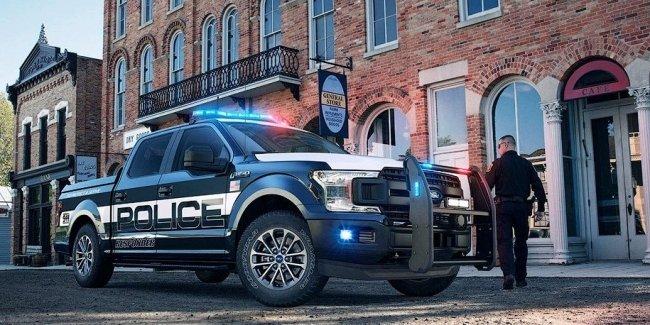 Полиция США получит пикапы Ford F-150 для погонь и бездорожья