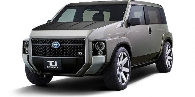 «Радостный ящик для инструментов»: Toyota показала минивэн Tj Cruiser Concept