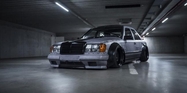 Стопроцентная жесть: самый суровый тюнинг Mercedes 124