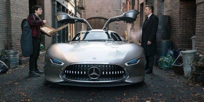 Новой машиной Бэтмена станет концептуальный суперкар Mercedes-AMG