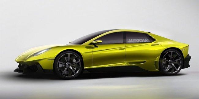 Lamborghini выпустит первый в своей истории седан