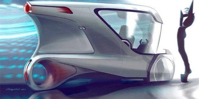Украинец придумал электромобиль без аккумулятора