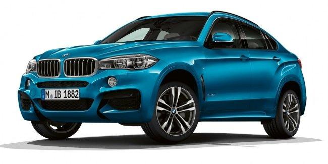BMW X5 и BMW X6 получили новые версии