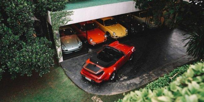 Остров Porsche: необычная коллекция старинных спорткаров