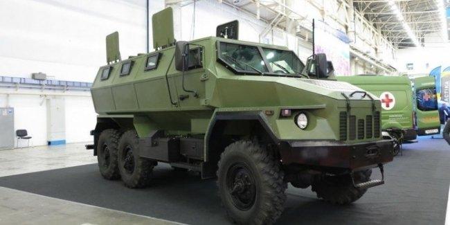 В Украине состоялась премьера новейшего медицинского бронеавтомобиля «Варта»