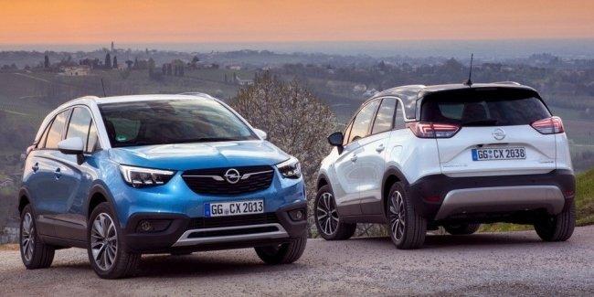 Opel представил кроссовер на газу