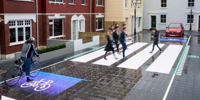 Интерактивный пешеходный переход – будущее автомобильных дорог
