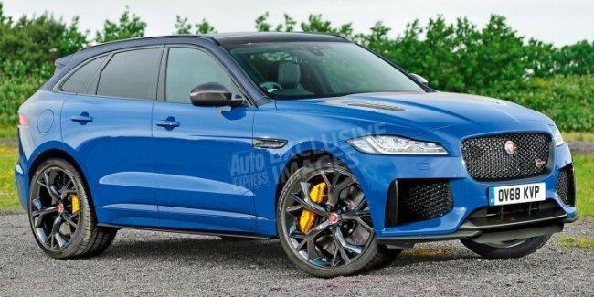 «Заряженный» Jaguar F-Pace SVR: новые подробности