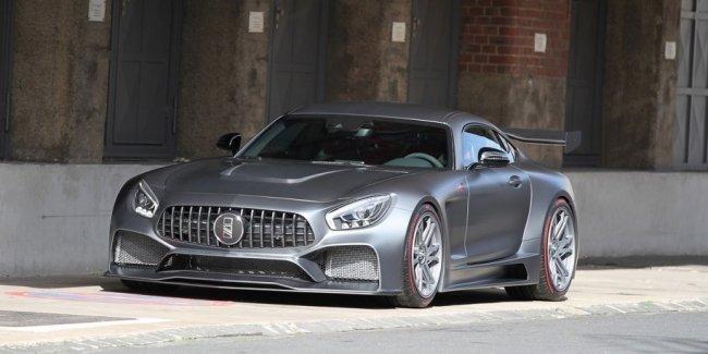 Mercedes-AMG GT от IMSA: 860 сил и удельная мощность как у Veyron