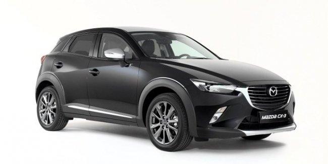 Кроссовер Mazda CX-3 получил эксклюзивную версию