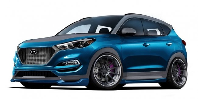Hyundai создал спортивный концепт Tucson Sport