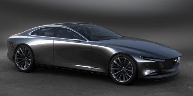 Mazda Vision Coupe: элегантный японский минимализм