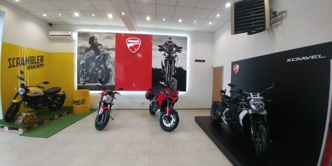 В Харькове начал работу официальный дилер мотоциклов Ducati