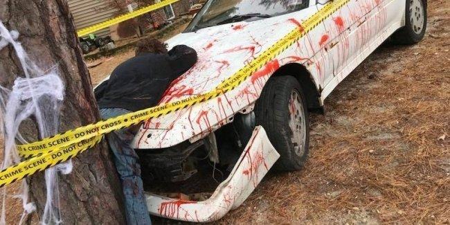 Кровавое ДТП подняло на ноги полицию. Как оказалось, зря