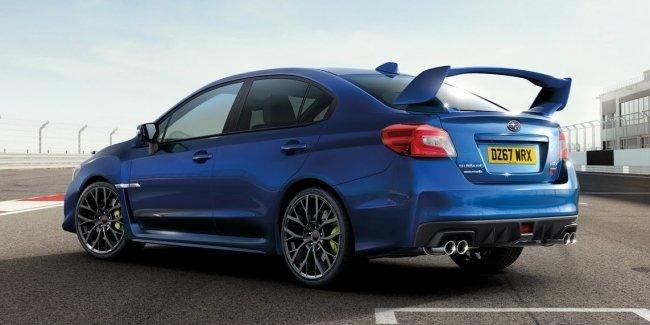 Компания Subaru выпустила «лебединую песню» WRX STI