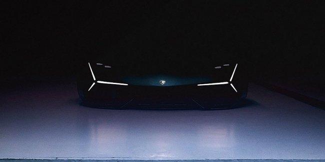 Первое изображение «суперкара будущего» от Lamborghini