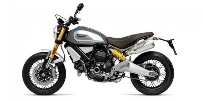 Первые фото нового мотоцикла Ducati Scrambler 1100 2018
