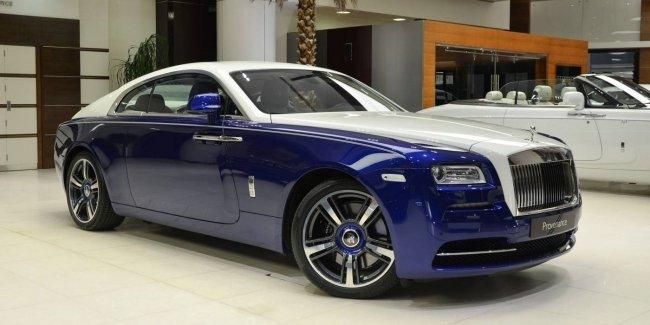 Rolls-Royce Wraith получил изысканный внешний вид и интерьер