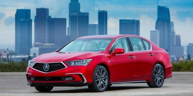 Acura начинает продажи обновлённого седана RLX