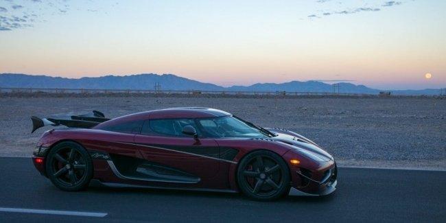 Koenigsegg Agera RS стал самым быстрым автомобилем в мире — 447 км/ч