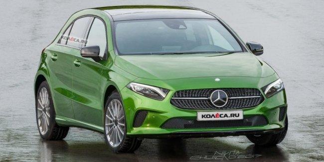 Хэтчбек Mercedes-Benz A-класса: новые изображения